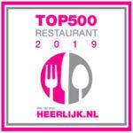 Top 500 restaurant 2019